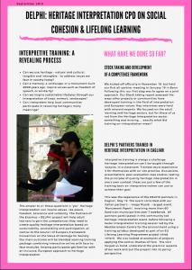 1st DELPHI newsletter