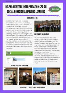 2nd DELPHI newsletter